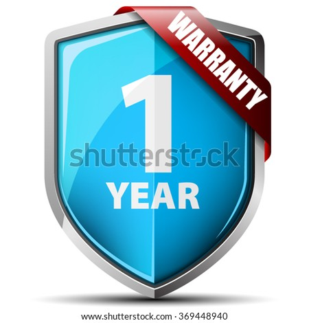 1 Year Warranty shield