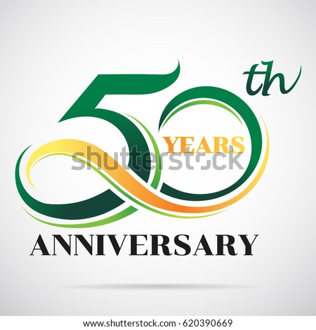 50 years anniversary celebration logo design stock photo photo rh shutterstock com 50th anniversary logo ideas 50th anniversary logos clip art