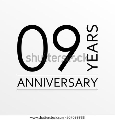 9 th stock photos royalty free images vectors shutterstock - Th anniversary symbol ...