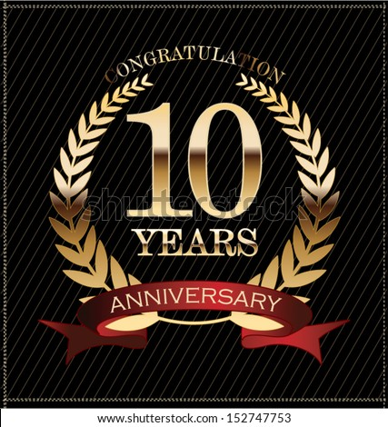 10 Year Anniversary Stock Images Royalty Free Images
