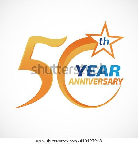 Anniversary Logo Template | stock vector years anniversary template logo 410197918