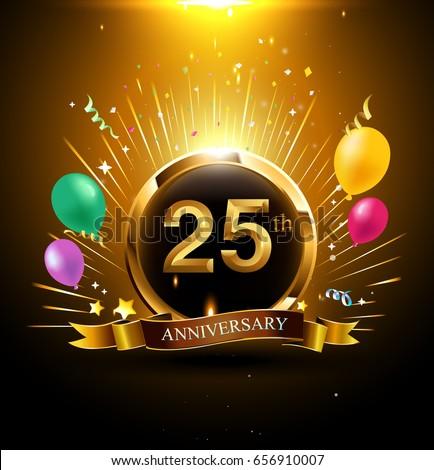 Wedding anniversary 25 year