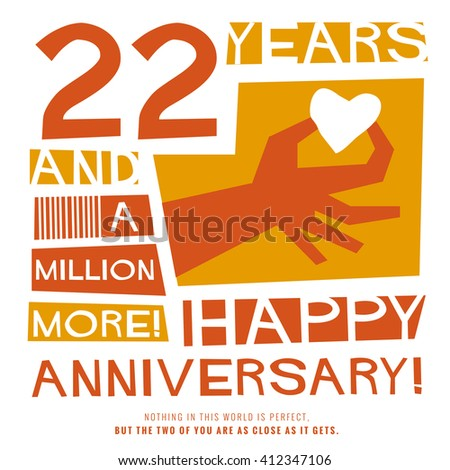 22 years anniversary clipart clipart library