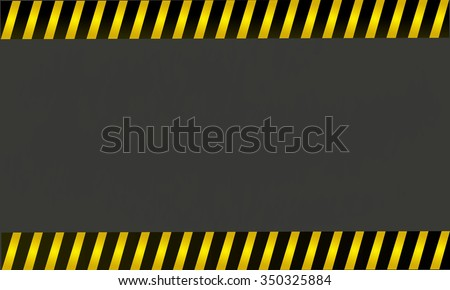 Yellow with black police line on a background , vector illustration