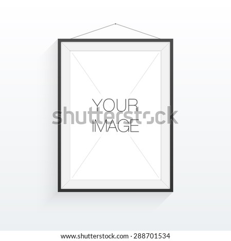A A Format Poster Minimal Abstract Stock Vector
