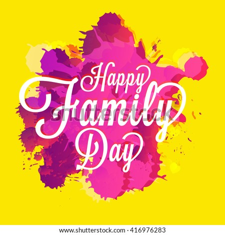 Family day stock images royalty free images vectors - Family days enero 2017 ...