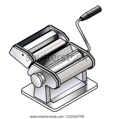 Pasta Machine Clip Art