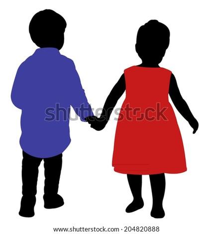 A Boy Walking Away From A Girl ... boy-and-a-girl-friends-hand-in-hand-walking-far-away-204820888.jpg