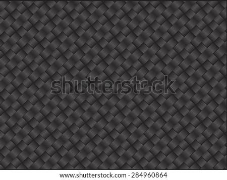 A carbon fiber pattern design. - stock vector