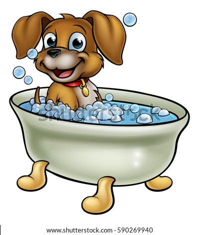 clipart cani dog grooming cartoons stock images royalty free images