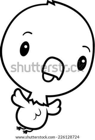 Cartoon Bald Eagle Running Panic Stock Vector 200191715 ...  Baby