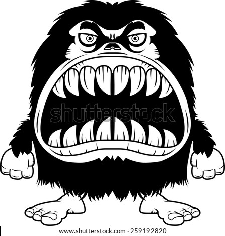 Monster Mouth Drawing Monster With a Big Mouth