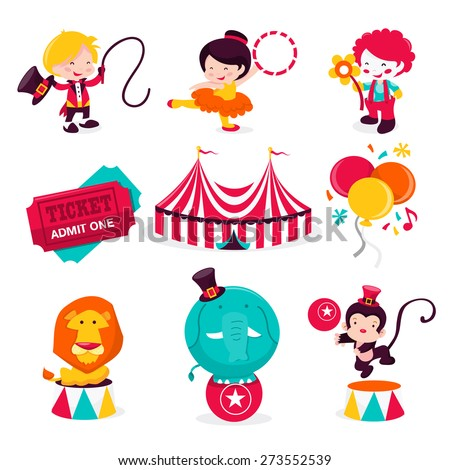 circus acrobat cartoon