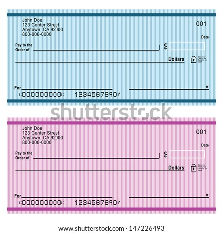Blank Check Stock Images RoyaltyFree Images  Vectors  Shutterstock