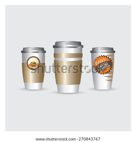 A coffee cup illustration
