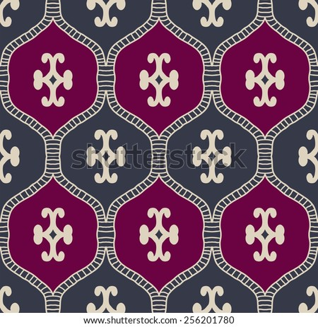 A colorful vector simple pattern - stock vector