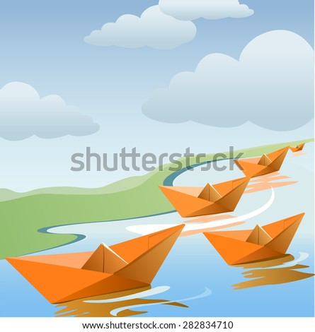 A design for monsoon offers - stock vector