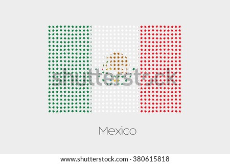 A Flag Illustration of Mexico