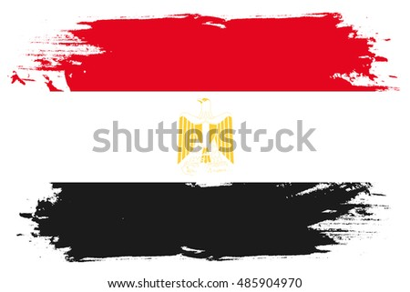 A Flag Illustration of the country of Egypt