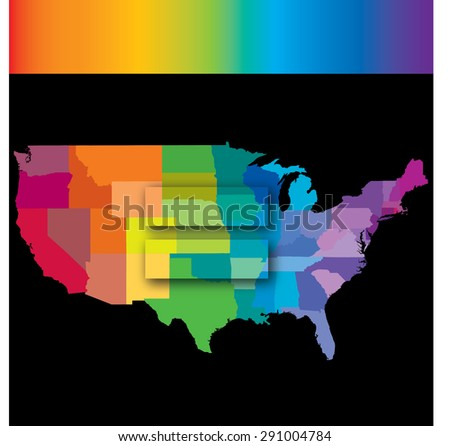 A graphic to celebrate America�s Supreme Court ruling regarding same sex marrige