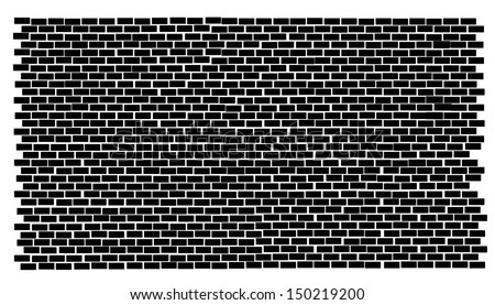 A illustration of brick wall / background - stock vector