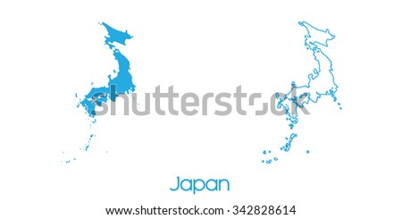 A Map of the country of _Japan