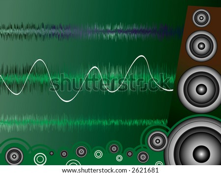 A moise related image showing a drawn speaker and sound waves