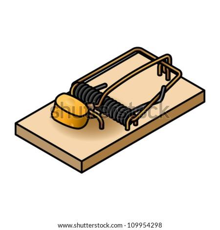 Mouse Trap Cage Clip Art