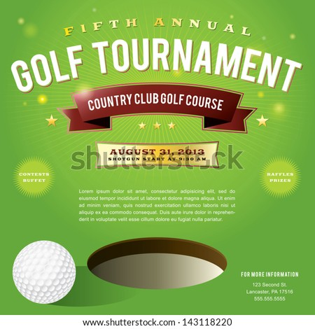 Golf Tournament Stock Images Royalty Free Images Vectors