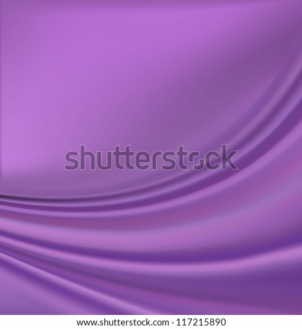 A purple abstract wave background - stock vector