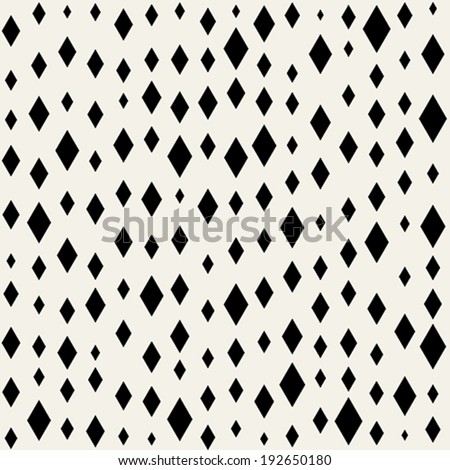 A seamless pattern with Argyle and Diamonds shape - stock vector