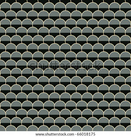 A seamless tiling pattern. - stock vector