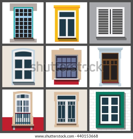 Italian window stock images royalty free images vectors for Classic window design