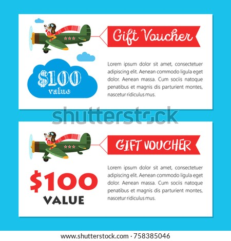 Set gift vouchers happy new year stock vector 758385046 shutterstock a set of gift vouchers happy new year cheerful vector illustration a fun negle Gallery