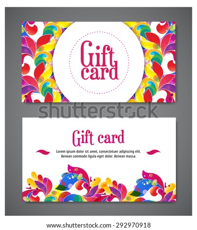 with compliments card templates