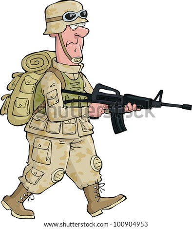 Military Cartoons Stock Images Royalty Free Images