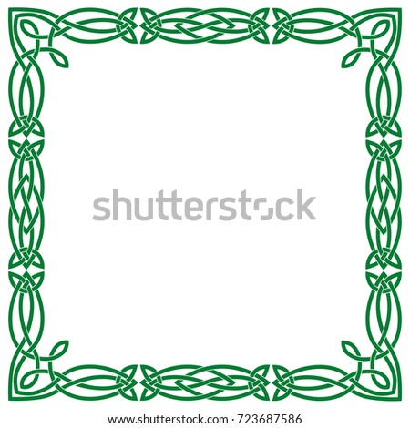 Green Celtic Frame | www.pixshark.com - Images Galleries ...