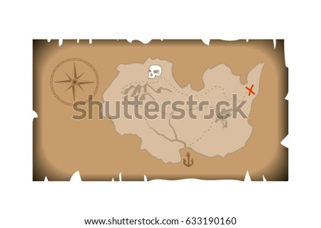 A treasure map