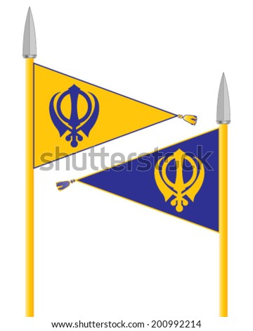 Sikh Flag Stock Images, Royalty-Free Images & Vectors   Shutterstock