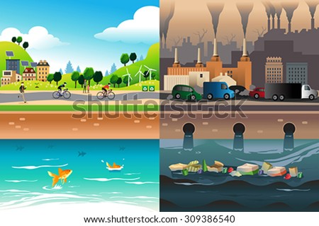 city pollution stock images royaltyfree images amp vectors