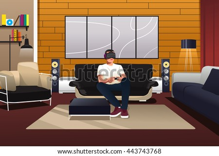 Virtual Room Stock Photos, Royalty-Free Images & Vectors ...
