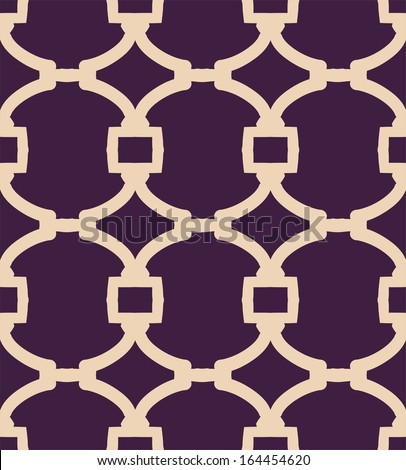 A vector simple grid bicolor  pattern - stock vector