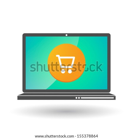 A vectorial e-commerce  illustration technology related - stock vector