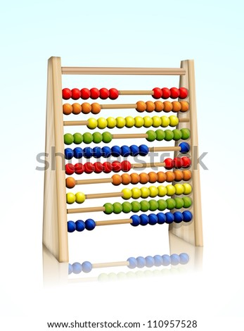 Abacus eps10 - stock vector