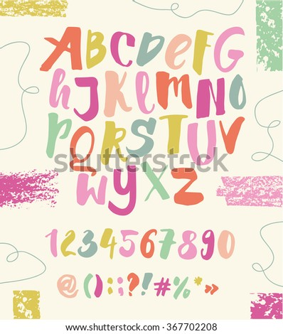 ABC for kids - stock vector