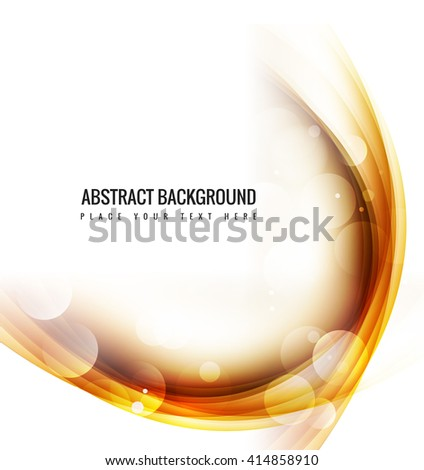 Abstarct shiny wave background - stock vector
