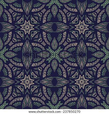 abstract arabic islam ornament vector pattern - stock vector