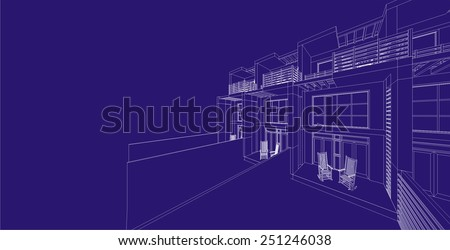 abstract architecture building background
