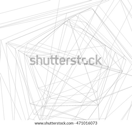abstract architecture linear background
