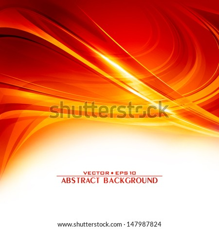 Abstract ardent background. Vector - stock vector